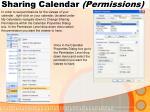 sharing calendar permissions