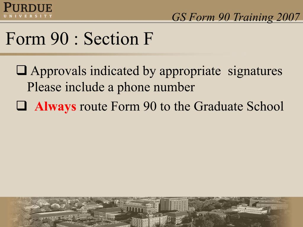 Approvals indicated by appropriate signatures