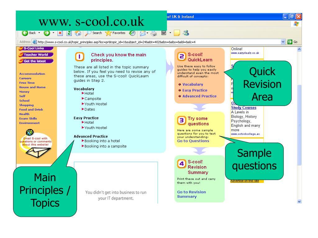 www. s-cool.co.uk