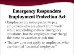 emergency responders employment protection act12