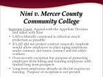 nini v mercer county community college26