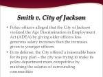 smith v city of jackson