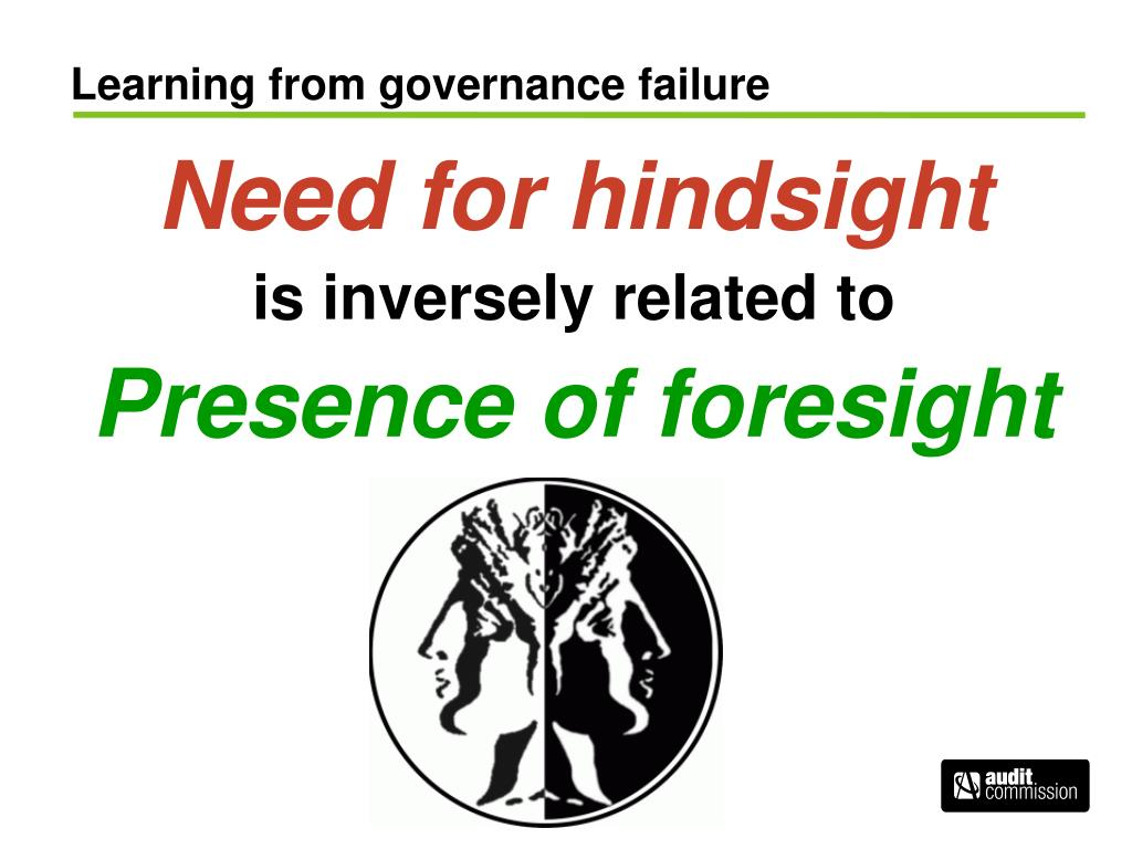 Learning from governance failure