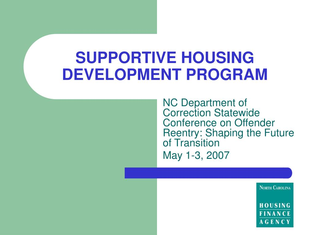 supportive housing development program l.