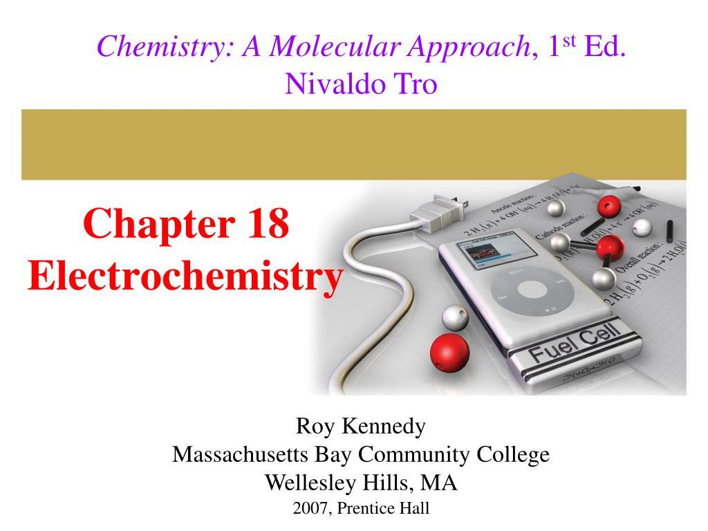 chapter 18 electrochemistry l.