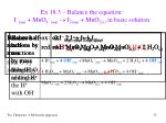 ex 18 3 balance the equation i aq mno 4 aq i 2 aq mno 2 s in basic solution15