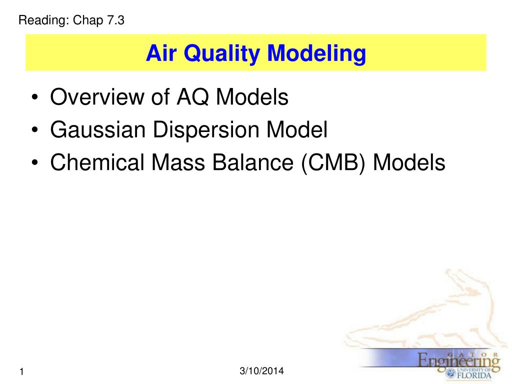 air quality modeling l.