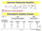 atmospheric stability classes