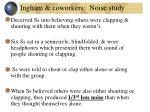 ingham coworkers noise study