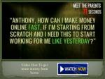 video how to get more money from home3