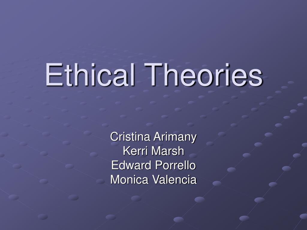 ethical theories l.