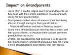 impact on grandparents