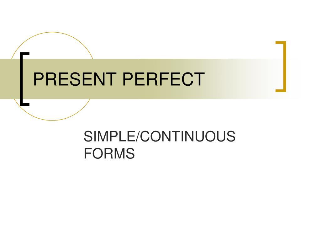 present perfect l.