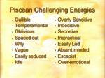 piscean challenging energies