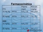 farmacocin tica