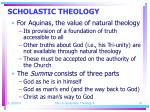 scholastic theology18