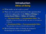 introduction ethics of doing11