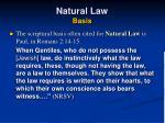 natural law basis15