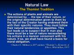 natural law the thomist tradition18