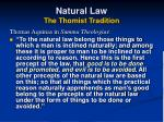natural law the thomist tradition23