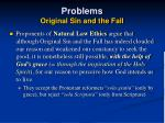 problems original sin and the fall33