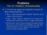 problems the is problem homosexuality38