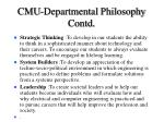 cmu departmental philosophy contd28