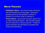 moral theories33