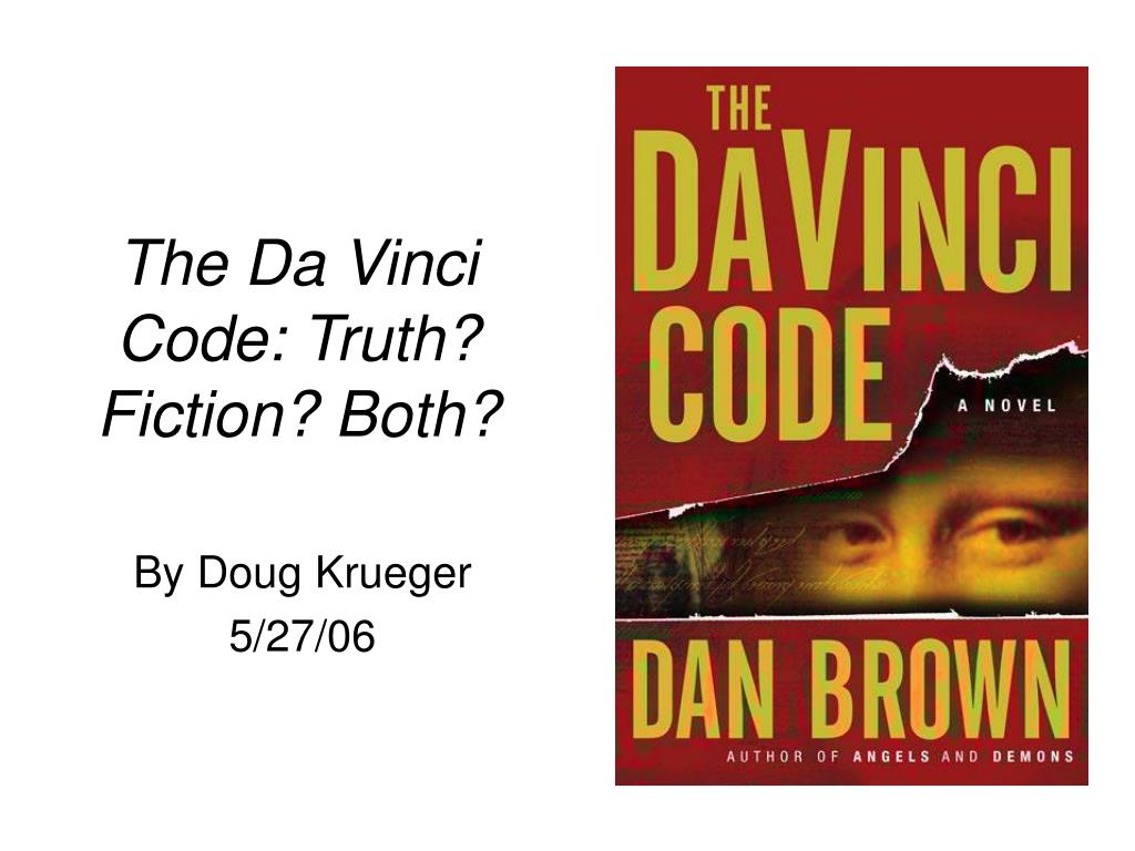 the da vinci code truth fiction both l.