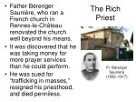 the rich priest