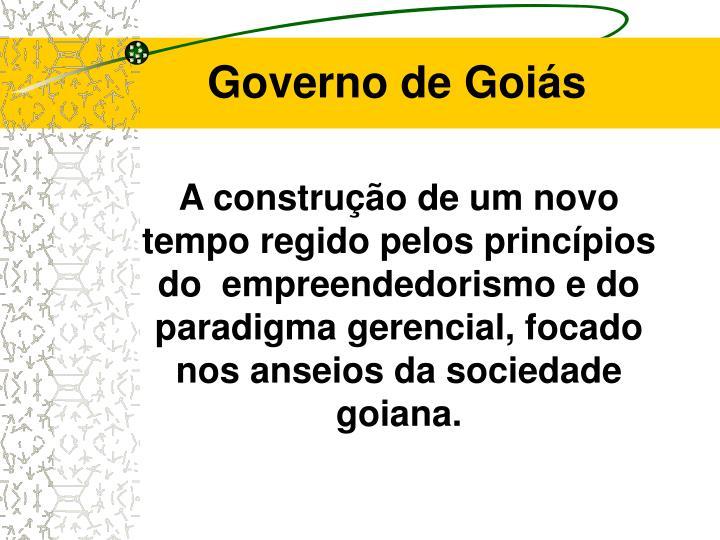 Governo de goi s