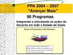 ppa 2004 2007 avan ar mais