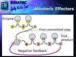 allosteric effectors38