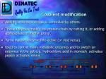 covalent modification