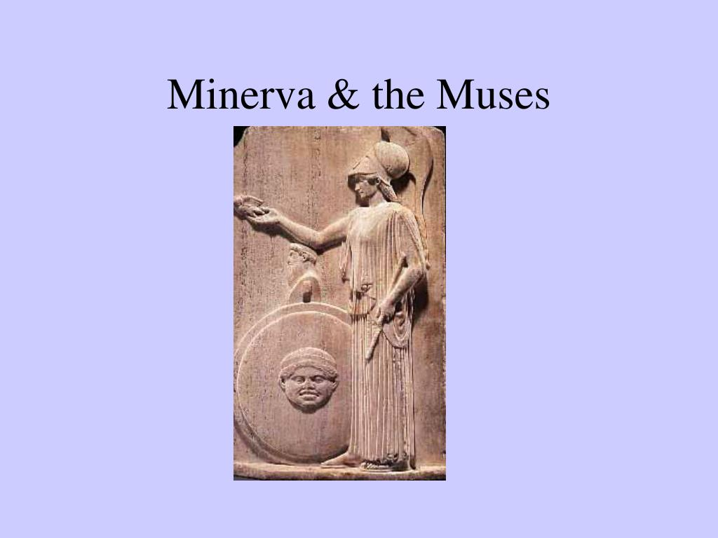 minerva the muses l.