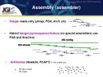 assembly assembler