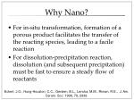 why nano