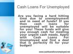 cash loans for unemployed4