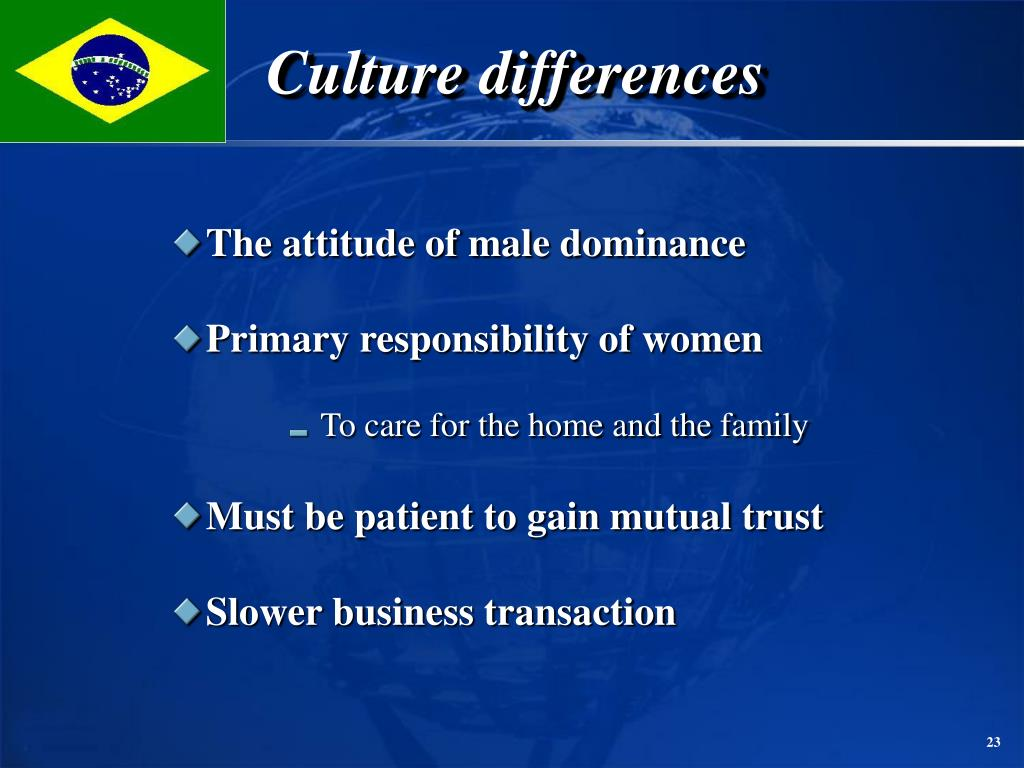 Culture differences