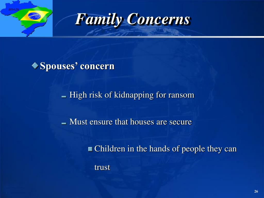 Family Concerns