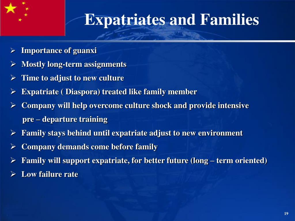 Importance of guanxi