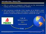 introduction about pmi