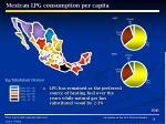 mexican lpg consumption per capita