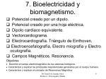 7 bioelectricidad y biomagnetismo