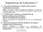 experiencias de laboratorio 2