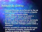 pol tica de godoy