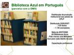 biblioteca azul em portugu s parceria com a oms