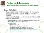redes de informa o enfoque na distribui o e na inclus o digital