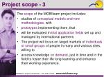 project scope 3