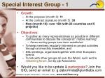 special interest group 1